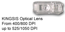 Kingsis Optical Lens up to 1050 dpi